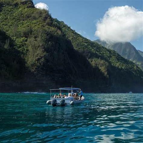 hanalei boat tours napali coast raft tour from hanalei kauai