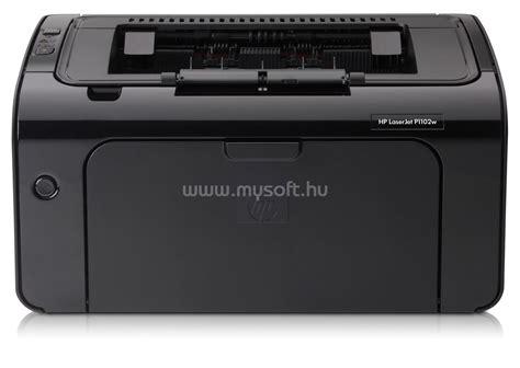 Printer Laserjet Pro P1102w hp laserjet pro p1102w printer ce658a mono l 233 zer nyomtat 243 mysoft hu