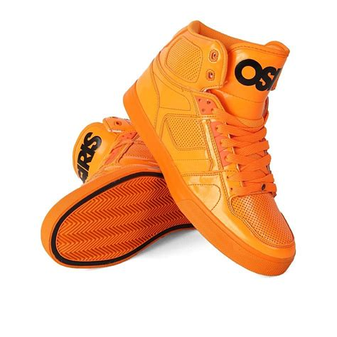 vlc lite osiris nyc83 vlc mens skate shoes orange black lite