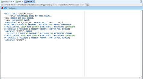 Alter Table Add Column How To Get Sql For Ddl Commands In Sql Developer