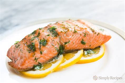 grilled salmon with dill butter recipe simplyrecipes com
