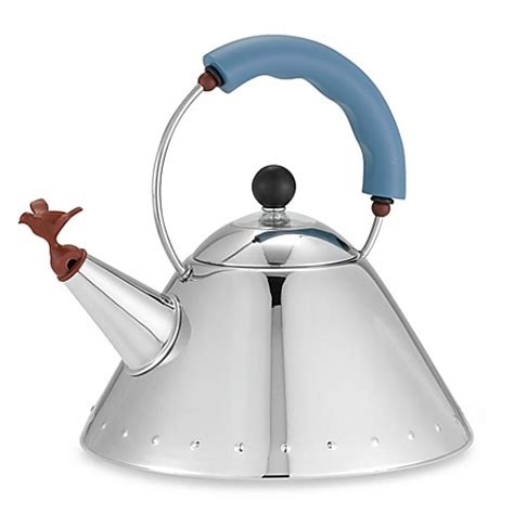 bed bath and beyond kettle alessi michael graves stainless steel tea kettle www