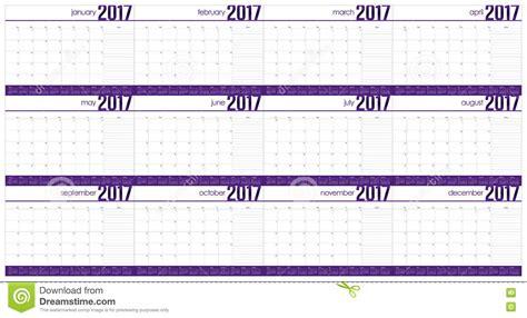 table calendar design vector year 2017 table calendar vector design template stock