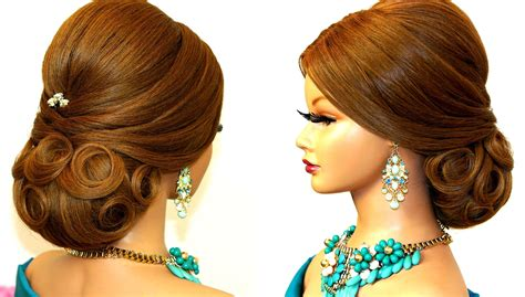 Wedding Hairstyle For Long Hair Bridal Updo Tutorial