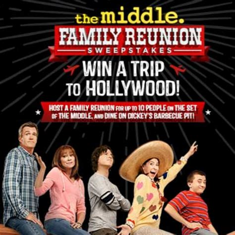 Family Reunion Sweepstakes - the middle family reunion sweepstakes quot heck of the day quot