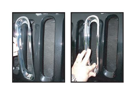 rugged ridge billet grille inserts in black how to install the rugged ridge black billet aluminum grille inserts on your 2007 2014 wrangler