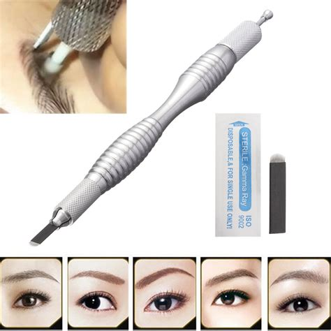 micro blading permanent eyebrow makeup tattoo machine pen