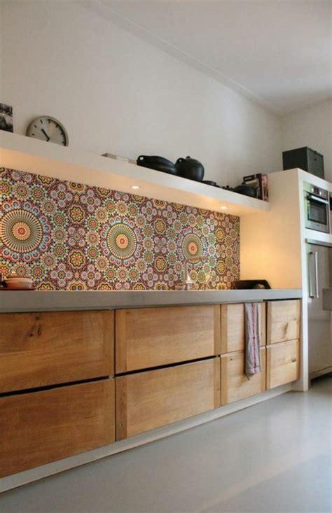 moroccan tile kitchen design ideas k 252 chenr 252 ckwand ideen mosaikfliesen in der k 252 che