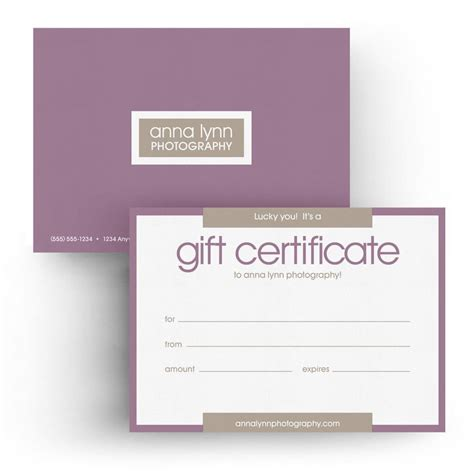 Shopify Gift Card Template by 5x7 Gift Certificate 3 Dollar Templates