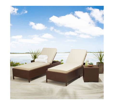 strathwood patio furniture strathwood griffen all weather garden furniture wicker poly rattan sun lounger brown