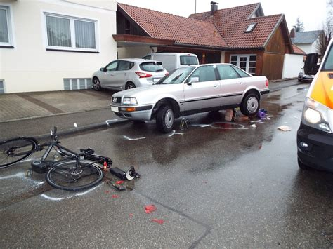 B Blingen Audi by Balingen Pedelec Fahrer Bei Unfall In Ostdorf Audi