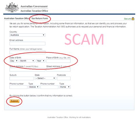 australian taxation office official site scam alerts australian taxation office