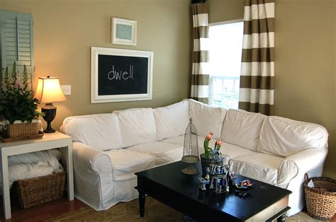 how to make a slipcover for a sectional slipcovered sectional