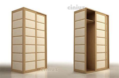 armadi giapponesi armadio shoji di cinius legno massello e anta scorrevole