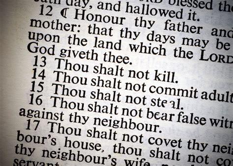 The Ten Commandments ten commandments basis for american