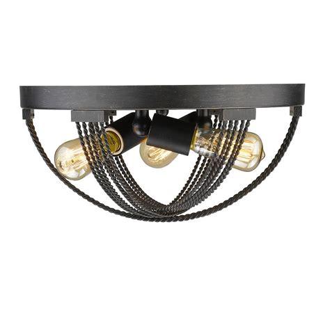 bronze flush mount light golden lighting galveston 1 light rubbed bronze flushmount