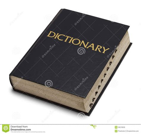 bid dictionary dictionary stock photo image 36278530