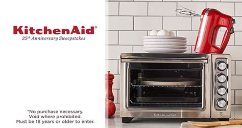 Anniversary Sweepstakes - qvc kitchenaid 25th anniversary sweepstakes