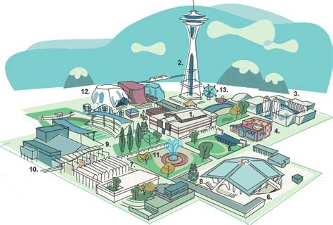 seattle map dwg the seattle times seattle center the region s