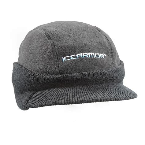 sportsman boats hat clam ice armor timmons hat 173199 ice fishing clothing