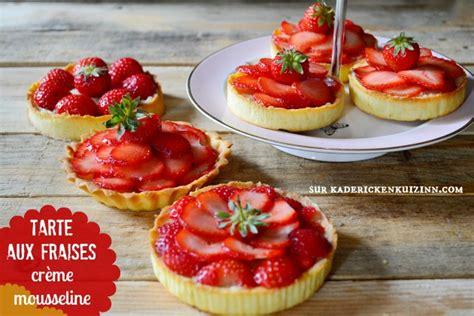 recettes de cuisine am駻icaine recette fraise tartelettes fraises et cr 232 me mousseuse