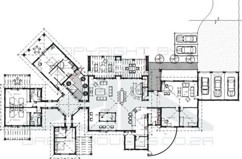 rest house design floor plan guest house plans