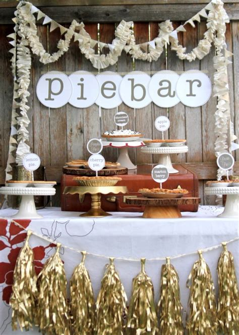 pie themed events cute pie dessert bars b lovely events