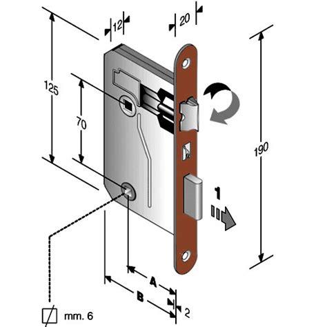 serrature per porte interne prezzi serratura per porte interne bonaiti bagno q 8x70mm 5
