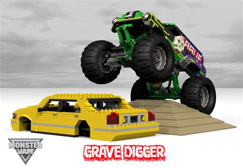 images of grave digger truck lego truck grave digger pixshark com