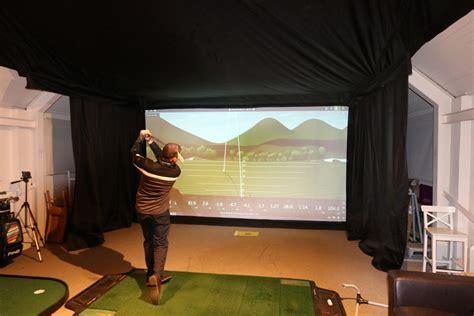 swing studio golf academy technology equipment installation