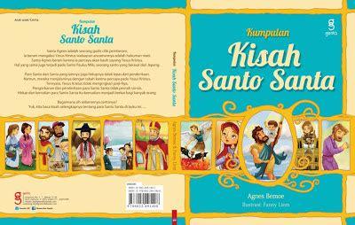 Buku Santo Santa dunia buku agnes bemoe kumpulan kisah santo santa