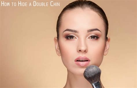 image double chin hairstyle part how hide hair short best hair and makeup for double chins image result for