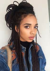 box plaits hairstyles 55 of the most beautiful jumbo box braids to inspire your