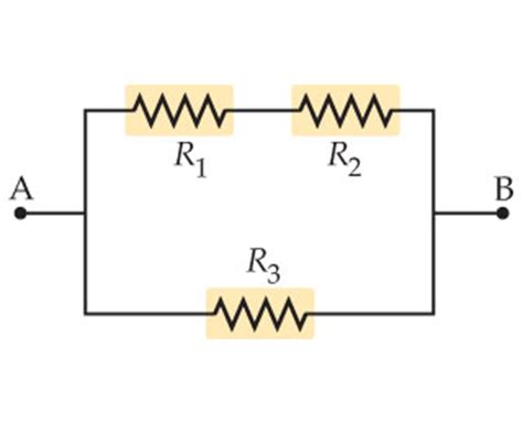resistors r1 and r2 an equivalent resistance of 6 ohms find the equivalent resistance between points a an chegg