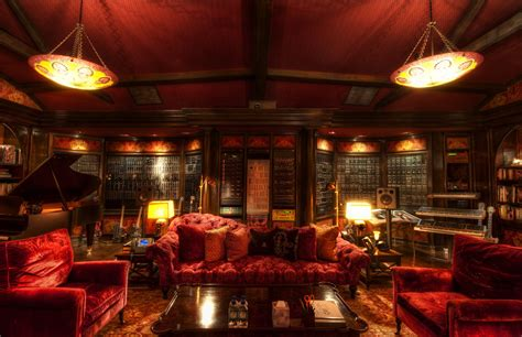 Home Movie Room Decor by The Secret Lair Of Hans Zimmer From Where He Inspires The