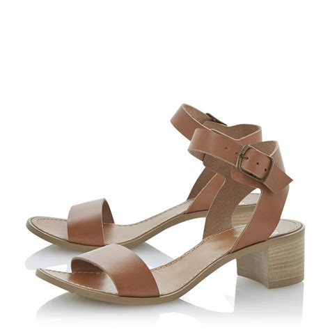 brown heeled sandals new bertie hobart brown block heel ankle
