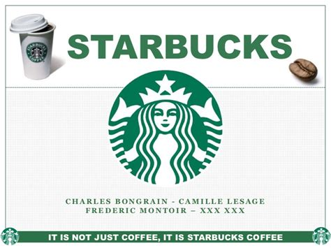 starbucks powerpoint template starbucks marketing