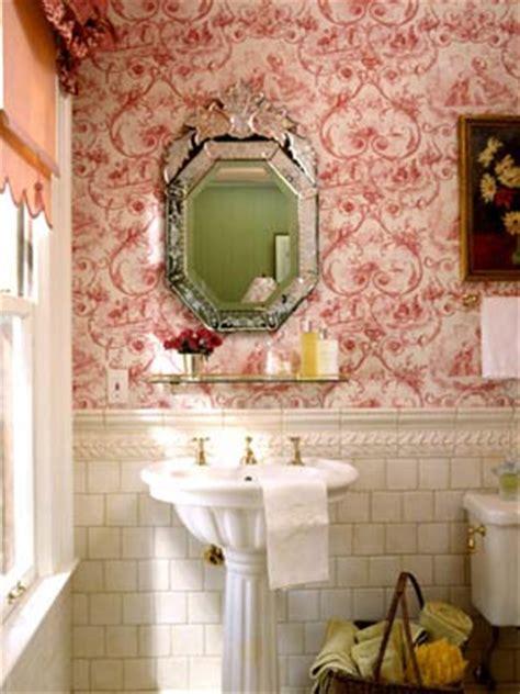 bathroom wallpaper canada powder room ideas