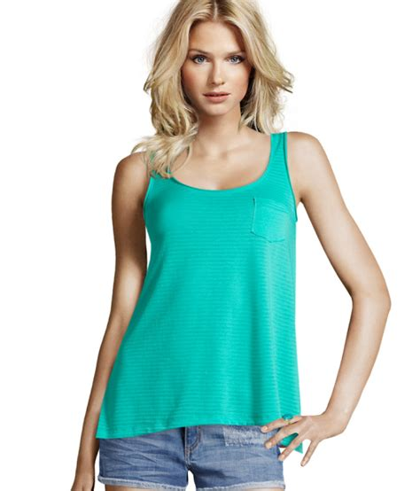 Hnm Top by H M Top In Blue Lyst