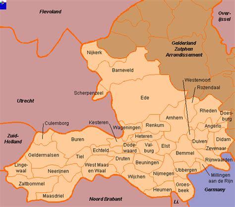 barneveld netherlands map clickable map of gelderland arnhem arrondissement