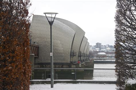 thames barrier nearest station as i see it david k hardman photography snowbound east
