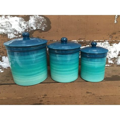 teal kitchen canisters 17 best ideas about canister sets on kitchen