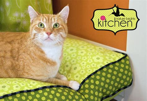dog bed patterns nature brights kitchen cool cozy pet bed sew4home