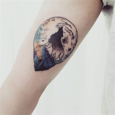 115 best moon tattoo designs amp meanings up in the sky