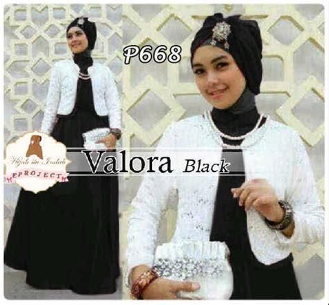 Promo Gamis Brukat Black Hitam Gaun Pesta Baju Muslim Dress Pasmina Hi baju gamis blazer brukat valora black p668 gaun pesta