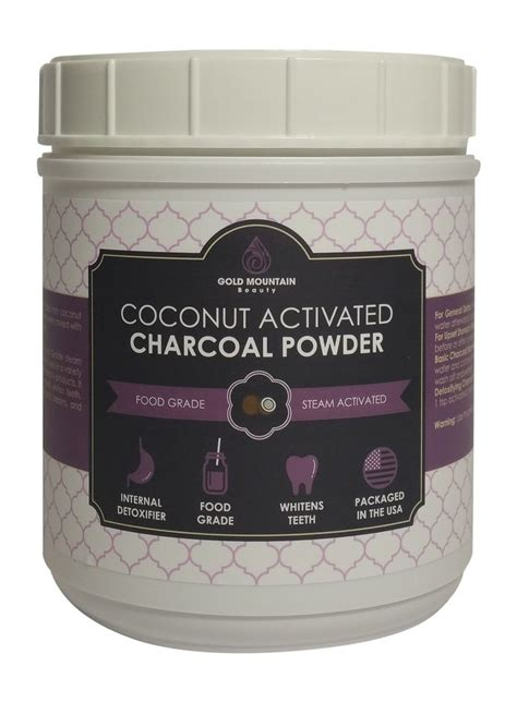 buy coconut activated charcoal powder