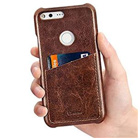Imak Ruiyi Series Luxury Genuine Leather Back Pixel pixel xl benuo vintage fashion style genuine leather slim phone