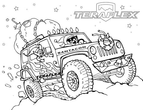 jeep coloring pages printable coloring pages jeep printable best free