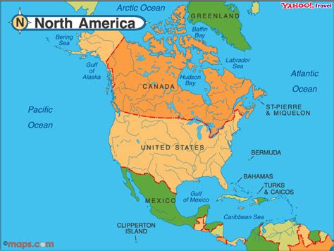 show me a map of usa and canada world history