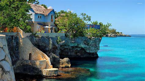 jamaica wallpaper for walls coastal house in negril jamaica wallpaper beach